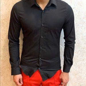 BLACK DRESS SHIRT -ZARA MAN